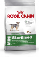 Royal Canin Size Health Nutrition Mini Sterilised 8 kg, 4 kg, 2 kg