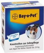 Bay-o-Pet Dental Care Chewing Stripes for Small Dogs 140 g