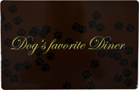 Trixie Placemat  44x28 cm Dog's favorite Diner