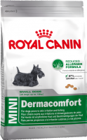 Royal Canin Size Health Nutrition Mini Dermacomfort 4 kg, 800 g