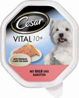 Shell Vital 10+ with Veal & Carrots 24x150 g