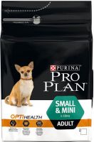 Purina Pro Plan Small & Mini Adult - Optihealth rijk aan kip 3 kg