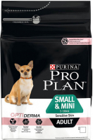 Purina Pro Plan Small & Mini Adult - Optiderma rijk aan zalm 700 g, 7 kg, 3 kg