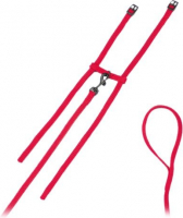 Fashion - Cat harness and leash set Rood