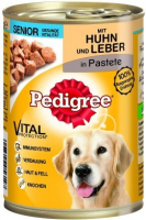 Pedigree Senior Kip en Lever in Pastei 400 g