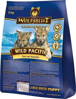 Wild Pacific Large Breed Puppy con Pescado y patatas 15 kg
