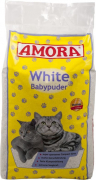 Cat Litter White with Baby Powder 15 l