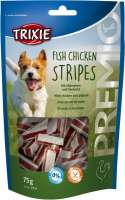 Trixie Premio Fish Chicken Stripes met Kip en Koolvis light 100 g, 75 g, 80 g, 40 g, 300 g, 400 g, 5 kg