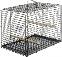 Transport cage for parrots Negro