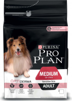 Purina Pro Plan Medium Adult - Optiderma reich rijk aan zalm 3 kg