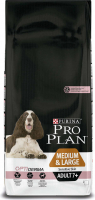 Purina Pro Plan Medium & Large Adult 7+ - Optiderma Zalm 14 kg