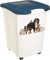 Pet Food Container Wit