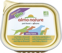 Almo Nature DailyMenu BIO Adult Dog Kip en Broccoli 300 g 8001154120332