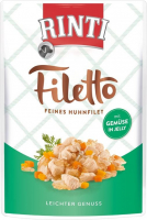 Rinti Filetto in Jelly Filete de Pollo con Verduras 100 g 4000158954039 opiniones