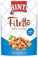 Rinti Filetto in Jelly - Filete de Pollo & Pato 100 g