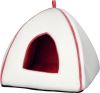 Noria Cuddly Cave, white/salmon red Wit