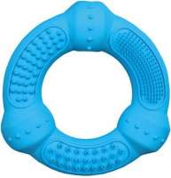 Trixie Denta Fun Ring, natuurrubber 12 cm