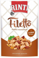 Rinti Filetto in Jelly Pollo con Cordero 100 g