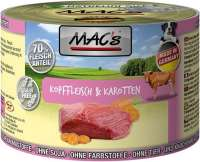 MAC's Dog - Kopvlees & Wortelen 200 g