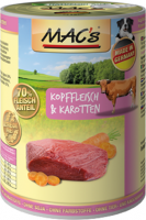 MAC's Dog - Kopvlees & Wortelen 400 g