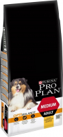 Purina Pro Plan Medium Adult - Optihealth rijk aan kip 14 kg, 3 kg