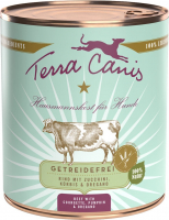 Terra Canis Menu Grain-Free, Beef with zucchini, pumpkin and oregano 800 g