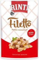 Rinti Filetto in Jelly Filete de Pollo con Vacuno 100 g