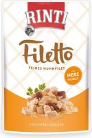 Rinti Filetto in Jelly Filete de Pollo con Corazones de Pollo 100 g