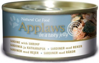 Natural Cat Food Sardine with Shrimps in Jelly 70 g