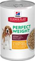Hill's Science Plan Canine Adult Perfect Weight met Kip en Groenten 363 g