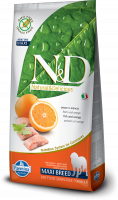 Farmina N&D Grain-Free Fish & Orange Adult Maxi 8010276021250 erfarenheter
