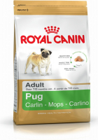 Royal Canin Breed Health Nutrition Pug Adult 3 kg