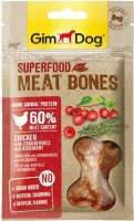 GimDog Superfood Meat Bones with Chicken, Cranberries and Rosemary 70 g 4002064514840