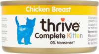 thrive Kitten Complete Chicken Breast 75 g