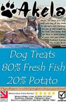 Akela Training Treats fresh Fish & Potato 500 g