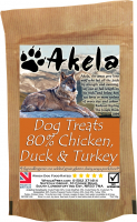 Akela Training Treats Chicken, Duck, Turkey 100 g, 500 g köp billiga på nätet