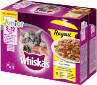 Whiskas Kitten Poultry Selection in Jelly 12x85 g