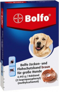 Bolfo Flea & Tick Protection Band for Large Dogs Marrone chiaro