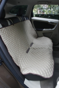 Elmato Car Seat Cover for Dogs Beige