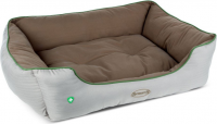Scruffs Insect Shield Soft Walled Dog Bed L Taupe