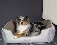 Scruffs Insect Shield Soft Walled Dog Bed Taupe