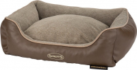 Scruffs Chateau Memory Foam Box Bed  Taupe M