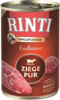 Rinti Single Protein Exclusive Pure Goat 400 g