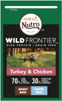 Nutro Wild Frontier Adult Large Breed Pavo & Pollo 10 kg