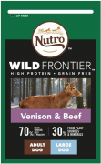 Nutro Wild Frontier Adult Large Breed Venison & Beef 10 kg
