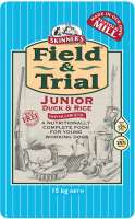 Skinner's Field & Trial Junior Duck & Rice 2.5 kg, 15 kg