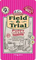 Skinner's Field & Trial Puppy Lamb & Rice 15 kg 5021815000196