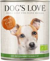 Dog's Love Vacuno orgánico 800 g