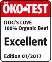 Dog's Love Vacuno orgánico 200 g
