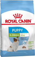 Royal Canin Size Health Nutrition X-Small Puppy 500 g, 3 kg, 1.5 kg